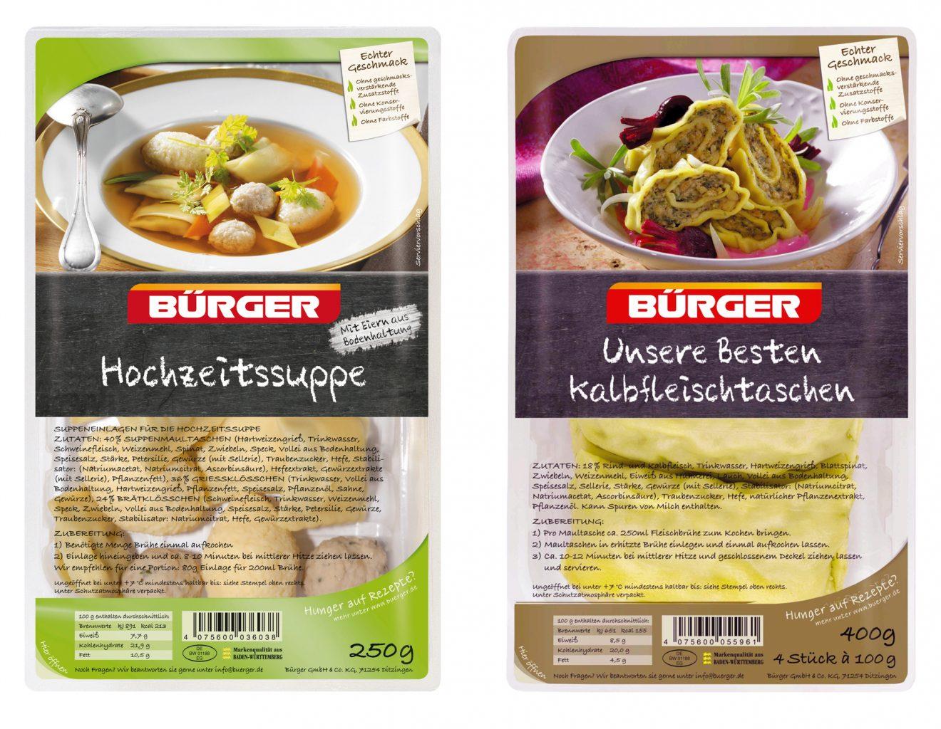 zwei Packaging Ansichtsexemplare